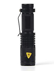 Osvětlení LED svítilny LED 2000 Lumenů 1 Režim Cree XR-E Q5 14500 / AANastavitelné zaostřování / Voděodolný / Odolný proti nárazům /