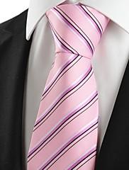 Muž Bavlna / Polyester / Umělé hedvábí Vintage / Roztomilý / Party / Pracovní / Na běžné nošení Kravata,Proužky