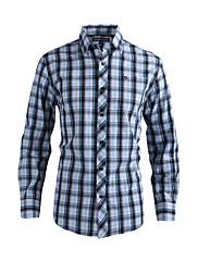 JamesEarl 男性 シャツカラー ロング シャツ&ブラウス ブラウン - DA202029250