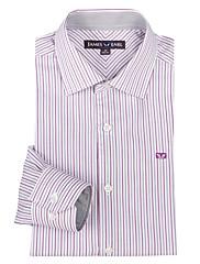 JamesEarl 男性 シャツカラー ロング シャツ&ブラウス シルバー - DA162008232