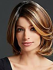 multi-boji srednje duge visoke kvalitete valovita kosa ženska elegantna modni ombre sintetičkog celebrity periku