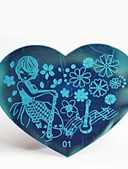 bluezoo kov 01 nail art ražby