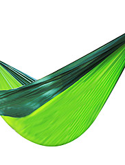 Outdoor Parachute Cloth Double Hammock 270x140CM Portable Parachute Hammock Nylon Double Swing Bed For Camping Hiking Travel