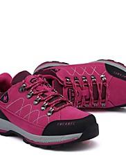 女性-アウトドア アスレチック Work & Safety-スエード-ローヒールアスレチック・シューズ-ピンク パープル