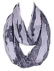 Žene Šal-Vintage / Slatko / Zabava / Ležerne prilike,Poliester / Umjetna svila