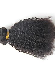 Lidské vlasy Vazby Brazilské vlasy Kinky Curly 12 měsíců Jeden díl Vazby na vlasy