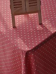 方形 水玉柄 テーブルクロス , リネン 材料 ホテルのダイニングテーブル / 表Dceoration