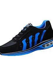 Atletické boty-Tyl PU-Pohodlné-Dámské-Modrá Červená Bílá-Běžné Atletika-Plochá podrážka