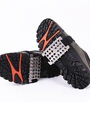 zapatos fid crampones cubren / nieve ligera de acero escalada en hielo veinte uñas seis dientes crampones súper simples