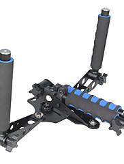 YELANGU 1/4 Screw Extension Tube Lightweight Hand-held Shoulder Bracket Rig For DSLR Video Cameras