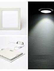 ™12ワットZDMは凹ん換装60 SMD 2835 900ルーメンクールホワイト交流85から265 Vシーリングライト/ LEDパネルのライトを導きました