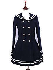 Abrigo Gosurori Princesa Cosplay Vestido  de Lolita Moda Manga Larga Lolita Abrigo por