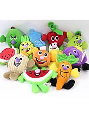 犬用おもちゃ ペット用おもちゃ 噛む用おもちゃ キーッ 水果