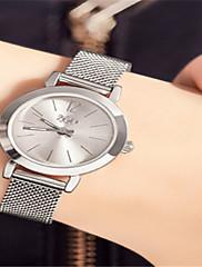 Mulheres Relógio de Moda Quartzo Impermeável Lega Banda Prata Ouro Rose