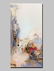 Hånd-malede Abstrakt Vertikal,Abstrakt Moderne Et Panel Kanvas Hang-Painted Oliemaleri For Hjem Dekoration