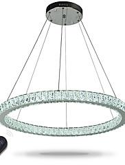 Dimmable levou anel teto pingente luzes modernos candelabros iluminação luz de luz interior com controle remoto