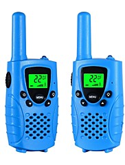 Walkie talkies para crianças 22 canais de carregamento de micro usb 2 vias de rádio 3 milhas (até 5 milhas) frs / gmrs mini walkie talkies
