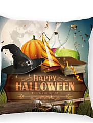 Stk. Bomuld Nyskabende Puder,Trykt mønster Mønster Moderne / Nutidig Halloween