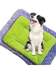 犬 ベッド ペット用 ライナー 水玉 パープル グリーン