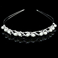 Women's Alloy/Imitation Pearl Headpiece - Wedding/Special Occasion Headbands