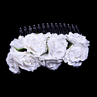 Women's/Flower Girl's Paper Headpiece - Wedding/Special Occasion/Casual Hair Combs