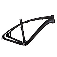 High Quality Full Carbon Feather Light Stylish Arch Design Mountain Bike Frame Natural Color