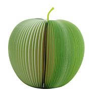 créatif unique bloc-notes en forme de pomme de grandes