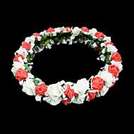 Blommor Headpiece Dam/Blomflicka Bröllop/Speciellt Tillfälle/Utomhus Skum Bröllop/Speciellt Tillfälle/Utomhus