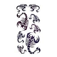 5 개 전갈 방수 임시 문신 (18.5cm * 9cm)