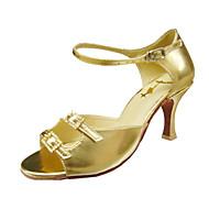 sapatos desempenho personalizar dança leatherette superior sapatos para mulheres latin