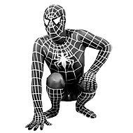 Zentai Suits Super Heroes / Spider / Movie/TV Theme Costumes Lycra Print / Patchwork Black Unisex