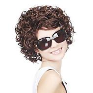 Capless Medium  Top Grade Synthetic Curly Wig
