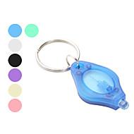 תאורה פנסים למחזיק מפתחות קל במיוחד / גודל קומפקטי / גודל קטן פלסטיק
