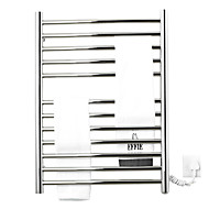 110W Stainless Steel Wall Mount Circular Tube Towel Warmmer Drying Rack