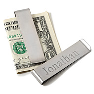 Gift Groomsman Personalized Men's Basics Money Clip