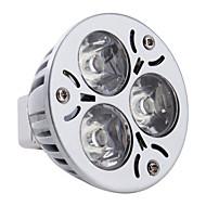 3W GU5.3 (MR16) LED-spotlampen MR16 3 Krachtige LED 260-300 lm Natuurlijk wit DC 12 V