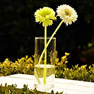 Table centres de conception classique deocrations de table en verre transparent vase pièce maîtresse