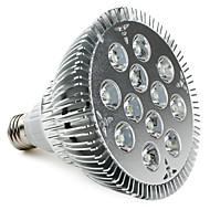 Spot Blanc Naturel PAR E26/E27 12 W 12 LED Haute Puissance 1080 LM 5500K K AC 85-265 V