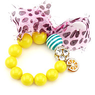 Women's Persona Beads Collection Bracelet Alloy Rhinestone