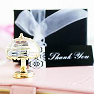 geschenken bruidsmeisjegift vintage kristallen tafellamp gunste