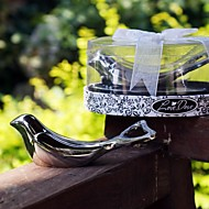 Birds Chrome Bottle Favor Bottle Openers Garden Theme Silver