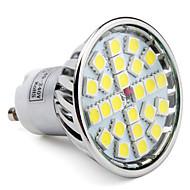 4W GU10 LED szpotlámpák MR16 24 SMD 5050 280 lm Természetes fehér AC 85-265 V