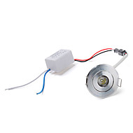 1W 100LM 3500K Warm White LED Ceiling Lamp Down Light with LED Driver (AC 86~265V)