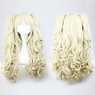 Lolita Curly Wig Inspired by Golden Double Ponytail 70cm Sweet