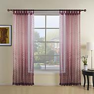 bolinhas cor de rosa de poliéster cortinas cortinas