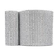 빛나는 라인 스톤 웨딩 리본 폭 11.8 cm - 10 야드 설정 (더 색)