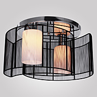 Max 40W Flush Mount ,  Modern/Contemporary Electroplated Feature for Mini Style Metal Living Room / Dining Room / Hallway