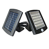 36 - LED White Solar Motion Sensor Security Lights