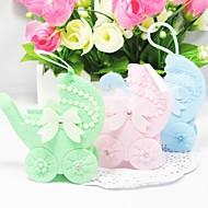 Sacoches à cadeaux Faveurs et cadeaux de fête Baby shower Thème classique Non personnalisé Tissu non tissé Vert/Rose/Bleu #