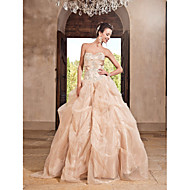 Prom / Formal Evening / Quinceanera / Sweet 16 Dress - Plus Size / Petite A-line / Ball Gown / Princess Strapless / Sweetheart